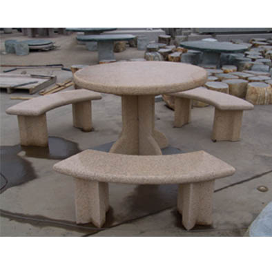 Fabulous Stone Tables Benches Garden Tables Benches Stone Furniture Theyellowbook Wood Chair Design Ideas Theyellowbookinfo